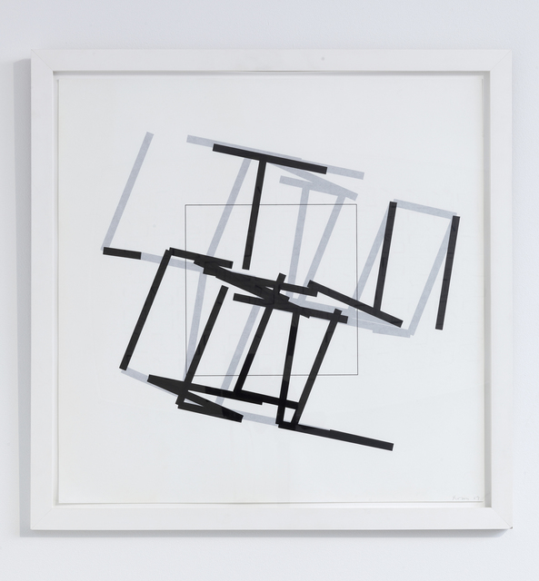 , 'P-460a77-3-6,' 1989, bitforms gallery