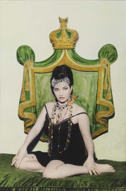 Youssef Nabil, 'Natacha & Crown, Cairo', 2000, Repetto Gallery