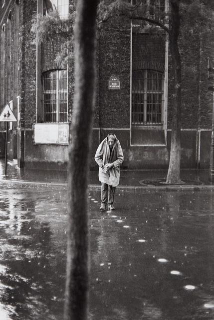 Henri Cartier-Bresson, 'Alberto Giacometti, rue d'Alésia, Paris', 1961, Phillips