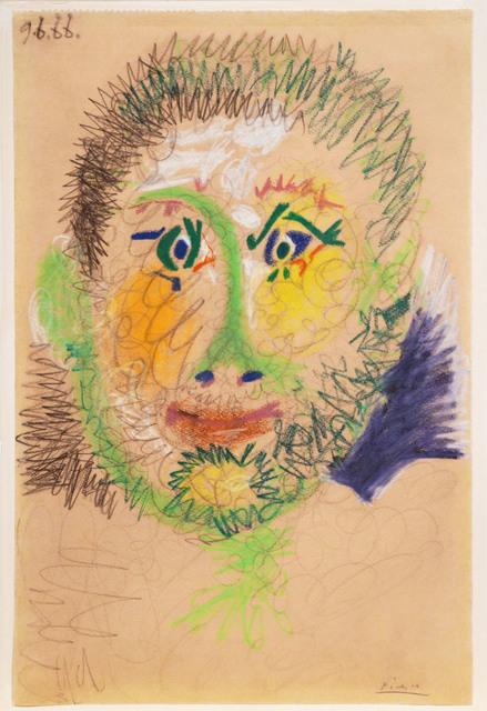 Pablo Picasso, 'Tête d'homme (9 June 1966)', 1996, Guarisco Gallery