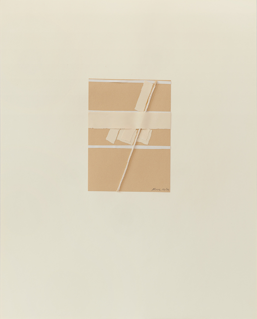 , 'Untitled IV (2),' 1977, Susan Eley Fine Art