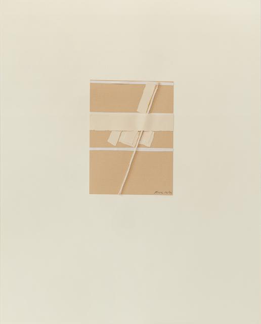 , 'Untitled IV (2),' 1977, Susan Eley Fine Art