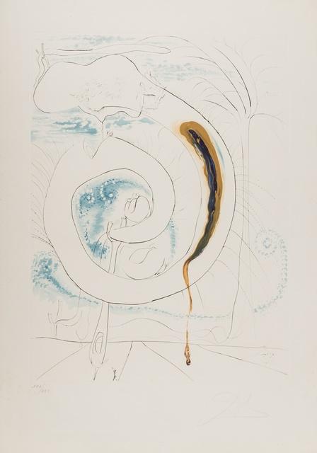 Salvador Dalí, 'Vision Planetaire et scatologique, the Conquest of the Cosmos (M.&L.645)', 1974, Forum Auctions