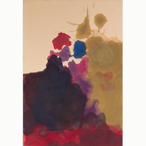 , 'Untitled,' 1962-1963, Helen Frankenthaler Foundation