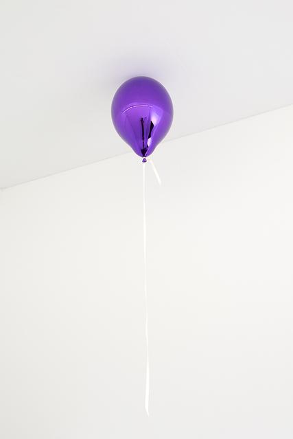, 'Purple Balloon (dark),' 2017, Galleri Nicolai Wallner