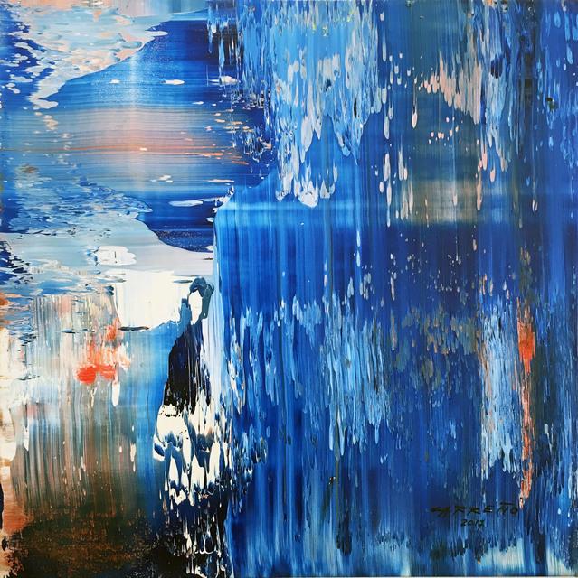 , 'Blue Sequence,' 2017, Madelyn Jordon Fine Art