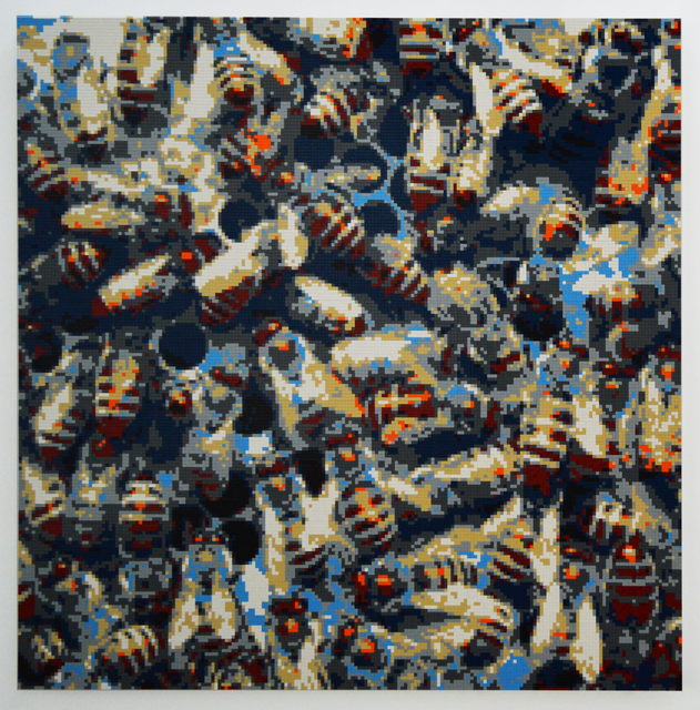 , 'Honeybees,' 2015, Olga Korper Gallery