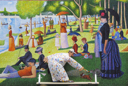 , 'Sunday Afternoon on La Grande Jatte (Georges Seurat),' 2015, Zenith Gallery