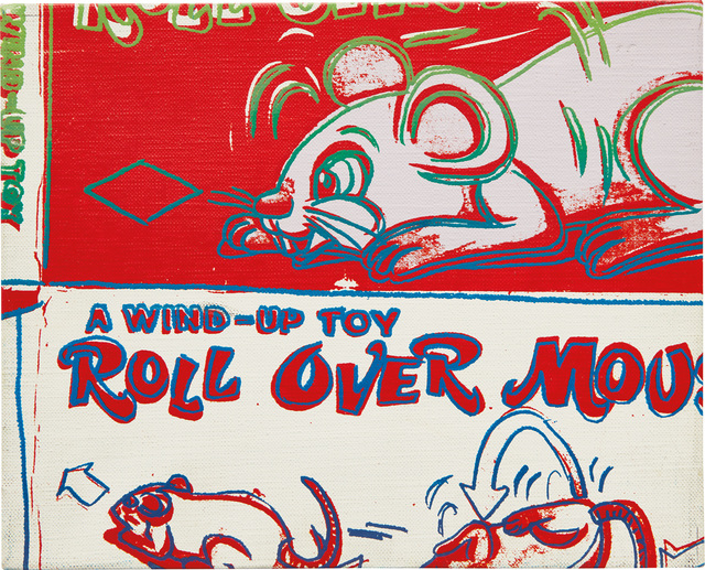 Andy Warhol, 'Rollover Mouse from the series Toy Paintings', 1983, Phillips