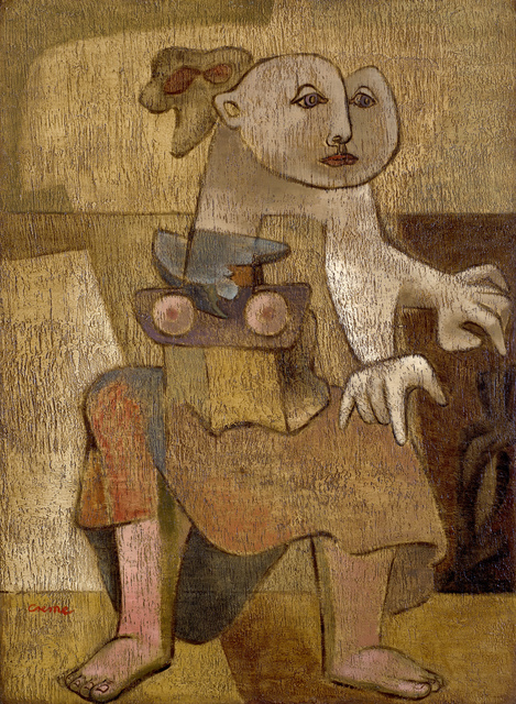 , 'The Anchorite,' 1943, Ben Uri Gallery and Museum