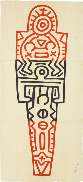 Keith Haring, 'Totem', 1989, Phillips