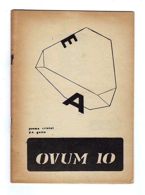 , 'OVUM 10 (nº5),' 1970, Bergamin & Gomide