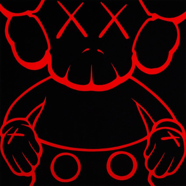 KAWS, 'Untitled (Orange companion)', Print, Lithograph in colors on paper, Heritage Auctions