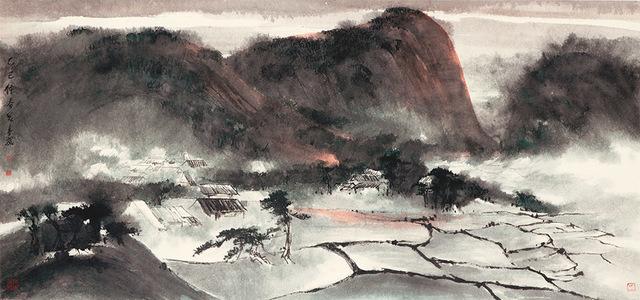 , 'View of Shatin 沙田景色,' 1965, Alisan Fine Arts