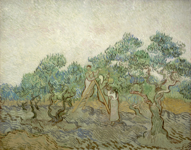 , 'The Olive Orchard,' 1889, National Gallery of Art, Washington, D.C.