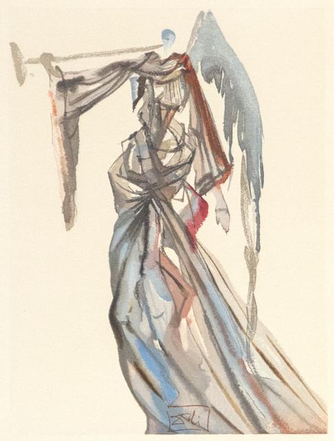 Salvador Dalí, 'Gesang, der unsre Musen und Sirenen In jenen sussen Floten so besiegt Wie erstes Licht den Glanz, den Ding' entlehnen', 1974, Heather James Gallery Auction