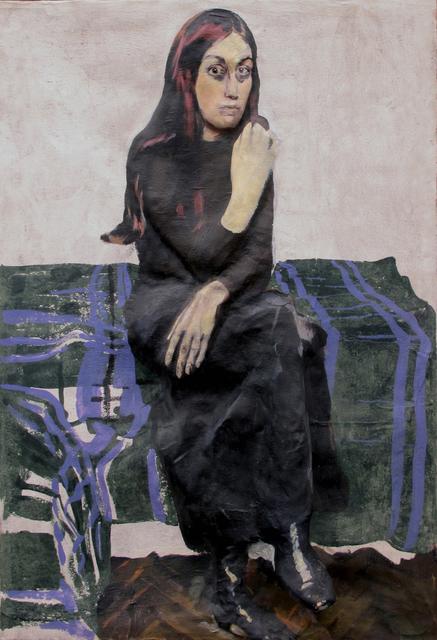 , 'Mariuca Iosifescu,' 1974, Galerija Gregor Podnar