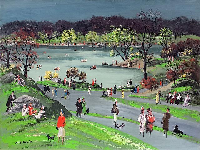 Adolf Arthur Dehn, 'Central Park', Robert Funk Fine Art