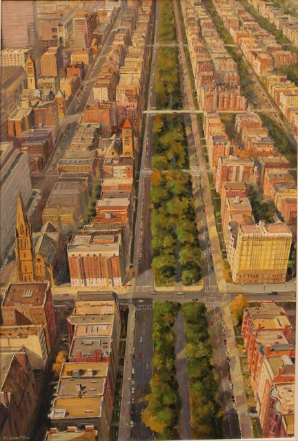 , 'Boston's Grand Boulevard, Commonwealth Ave.,' 2019, The Guild of Boston Artists