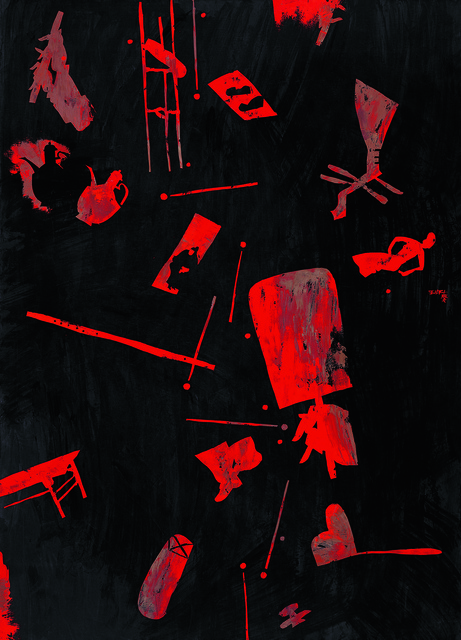 , 'Night Revel (Han Xizai's Night Revel-4),' 2006, Tina Keng Gallery