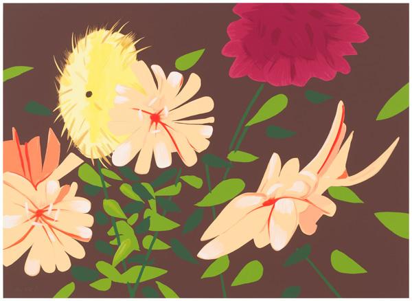 Alex Katz, 'Late Summer Flowers', 2013, Nikola Rukaj Gallery
