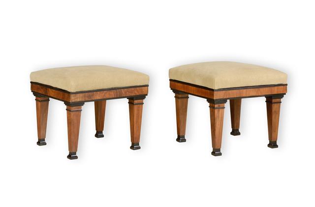 , 'Padded stool,' 1930s, Heritage Gallery