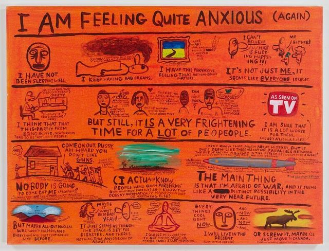 , 'I Am Feeling Quite Anxious ,' 2016, The FLAG Art Foundation