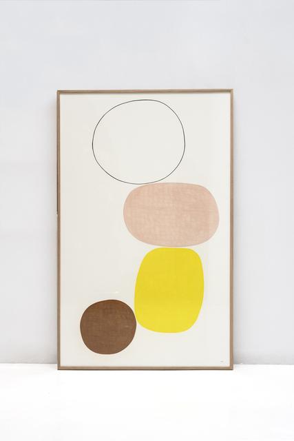 Maru Quiñonero, 'Joy 2', 2020, Painting, Pastel on paper, Alzueta Gallery