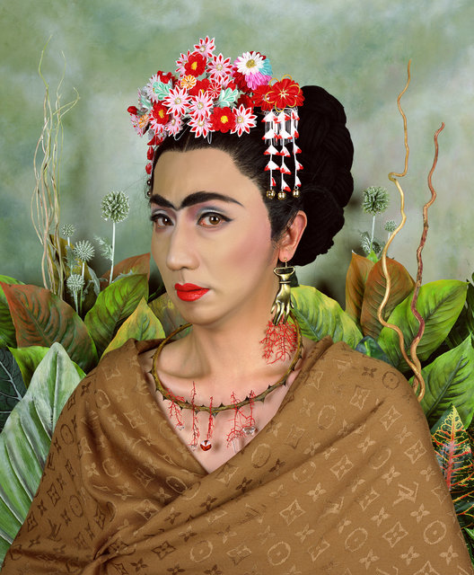 Yasumasa Morimura, 'An Inner Dialogue with Frida Kahlo (Hand-shaped Earring)', 2001, Alex Daniels - Reflex Amsterdam
