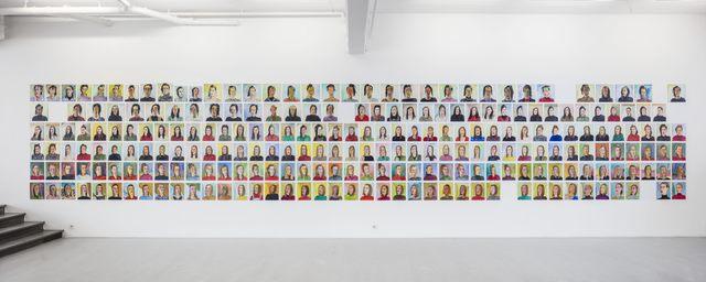 , 'Självporträtt / Self portraits,' 1986-1990, Andréhn-Schiptjenko