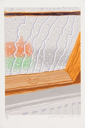 Rain on the Studio Window