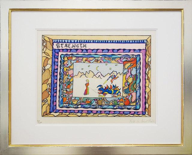 Niki de Saint Phalle, 'Tarot - Strenght Card', 1988, Print, Silkscreen, Galerie Kellermann