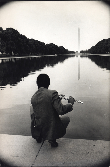 , 'The Reflecting Pool, Washington Monument, Poor Peoples Campaign, Washington, D.C.,' 1968, Steven Kasher Gallery