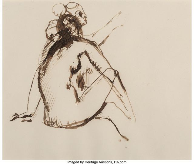 Balthus, 'Double etude de nu', 1928, Heritage Auctions