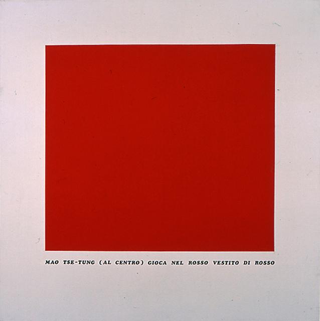 , 'Storia rossa,' 1977, Erica Ravenna Fiorentini Arte Contemporanea