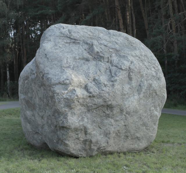 , 'Brück stone,' 2011, Maisterravalbuena