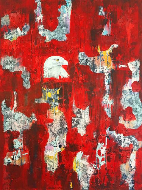 , 'You, The Eagle,' 2017, Axiom Fine Art