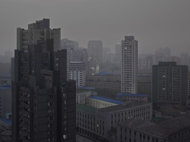 , 'Central District by Night Part II (Pyongyang),' 2014, The Ravestijn Gallery