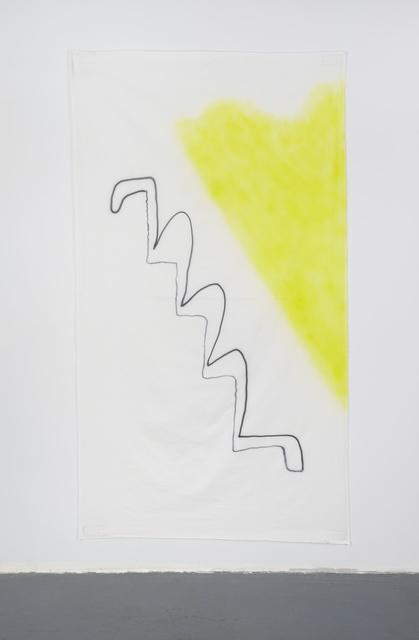 , 'Late Checkout (yellow spot),' 2015, Simone Subal