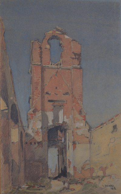 , 'Bombed Landscape,' 1918, Darnley Fine Art