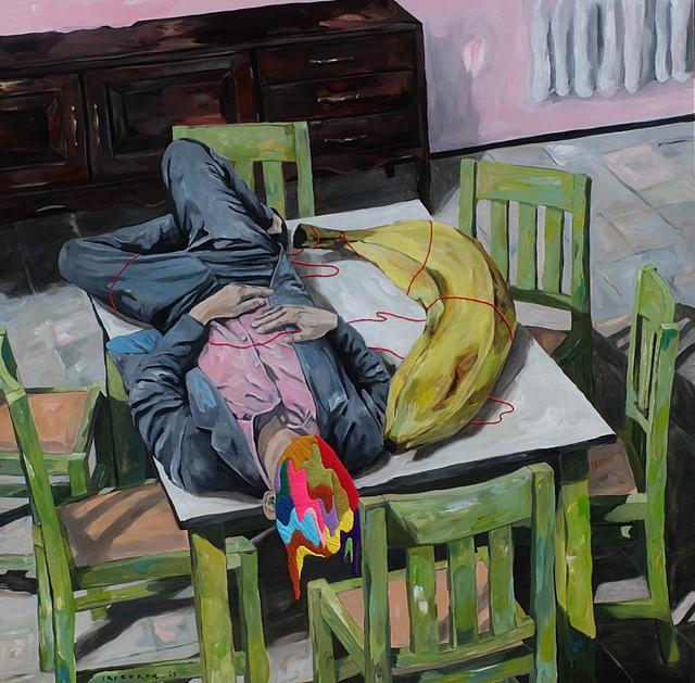 , 'Sleeping with Big Banana,' 2018, Artspace Warehouse