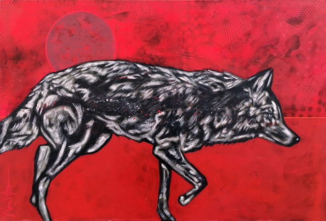, 'Red Planet Coyote,' 2016, Modern West Fine Art