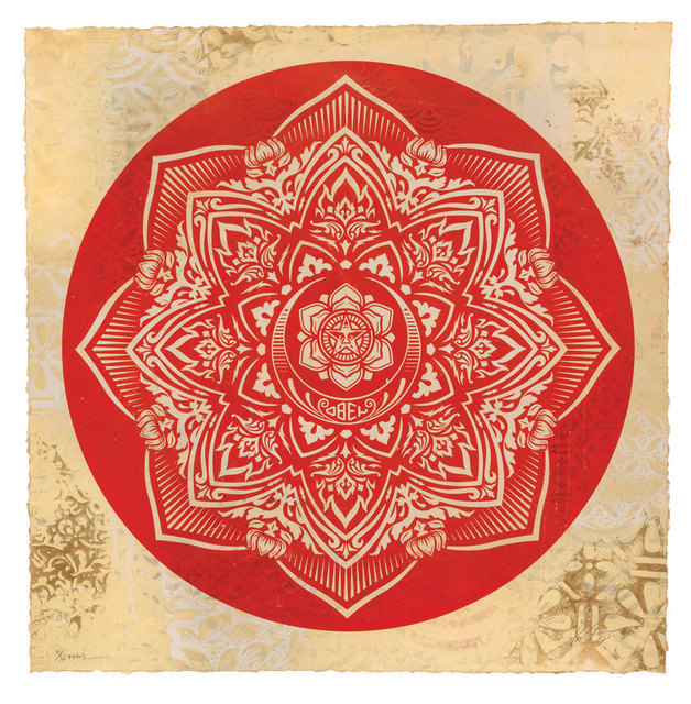 , 'Crescent Mandala,' 2018, 212GALLERY