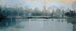 , 'Bow Bridge, Twilight,' 2012, Kathryn Markel Fine Arts