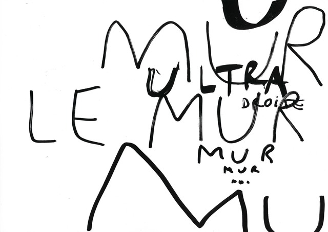 , 'Le mur après le mur après le mur #G,' 2018, Michel Rein Paris/Brussels