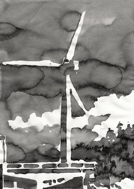 , 'Windmill,' 2017, Wooson Gallery