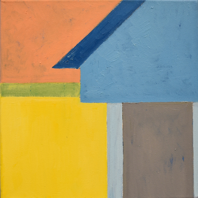 , 'Blue/Yellow 2,' 2018, Carter Burden Gallery