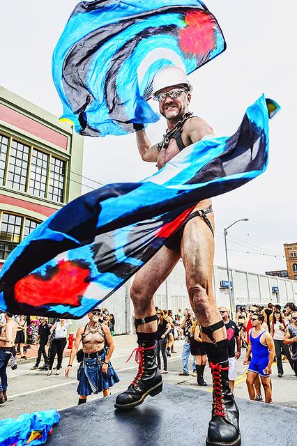Mitchell Funk, 'Folsom Street Fair, BDSM Leather Event #30', 2015, Robert Funk Fine Art