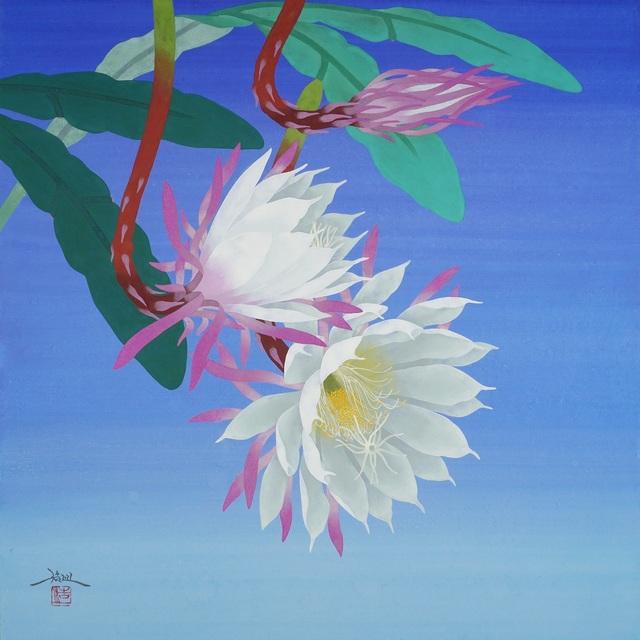 , 'Gekka ni Saku (Bloom Under the Moon),' 2018, SEIZAN Gallery