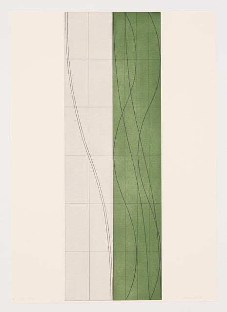 Robert Mangold (b.1937), 'Double Column A, B & C (suite of 3)', 2006, Maune Contemporary